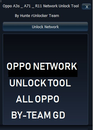 Download Oppo Network Unlock Tool latest tool for 2019