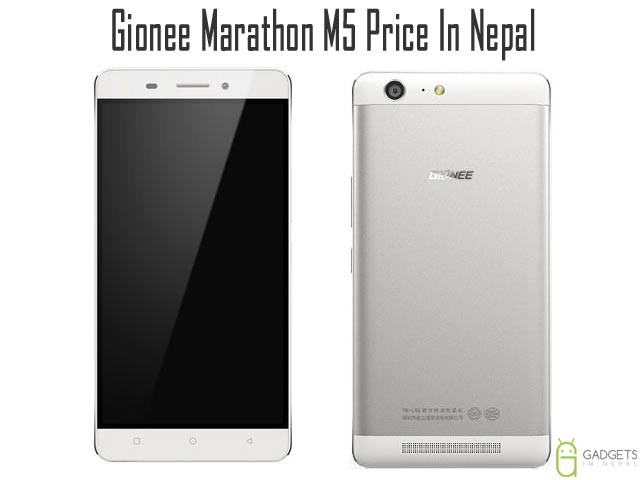 Gionee Marathon M5 Price In Nepal