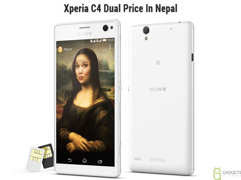 Sony Xperia C4 Dual price in Nepal