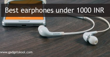 10 best earphones under 1000 INR