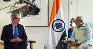 Tiim Cook & PM Modi Meeting for iPhones in India