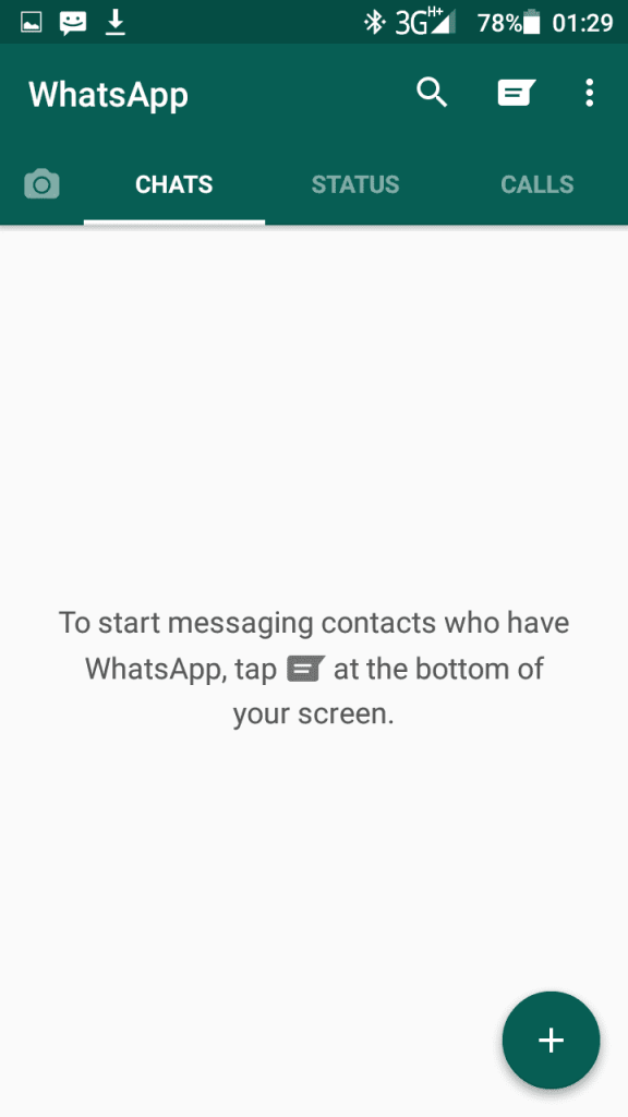 Dual whatsapp with GBWhatsapp homescreen