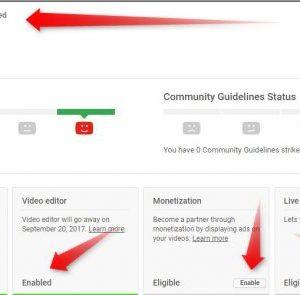 Verify YouTube account