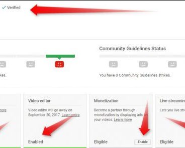 Verify YouTube account