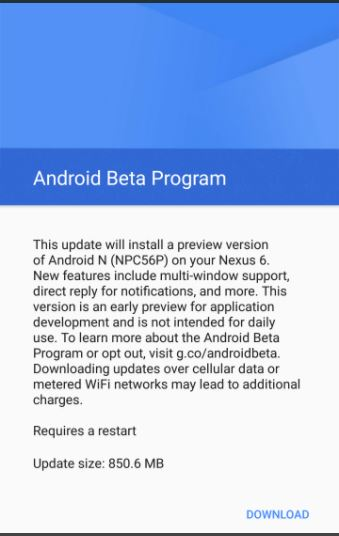 Download Android O