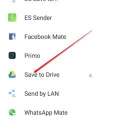 Google contacts backup