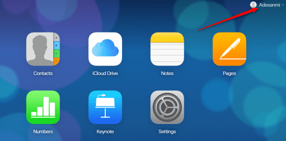 Create iCloud account for Android