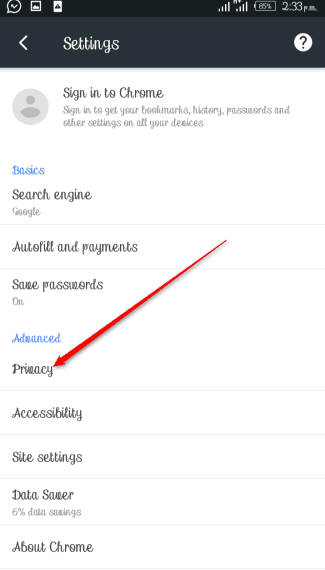 How to Save Password in Chrome Mobile