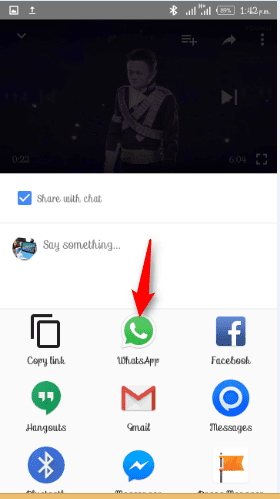 Benefits of WhatsApp Video feature