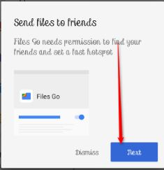 How to Transfer Files Using Google File Go Android App