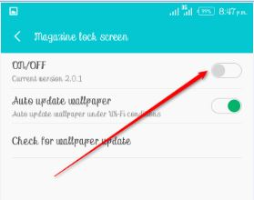 How to Enable & Disable Magazine Lock Screen on Android