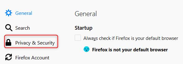 Mozilla Firefox password manager