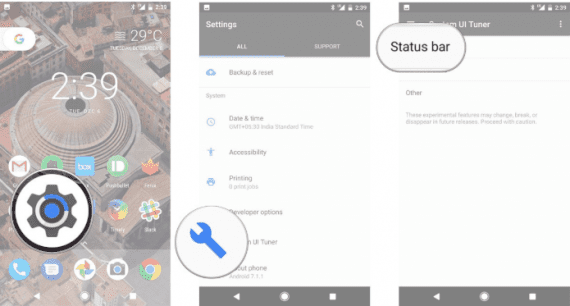 How to Enable Android Battery Percentage in Google Pixel