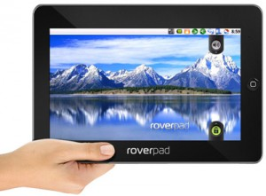 RoverPad 3WZ10 Android Tablet