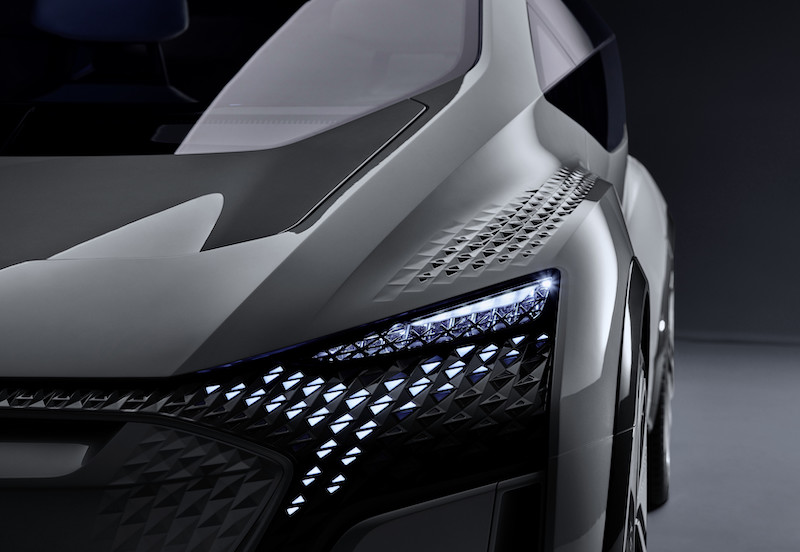Printed Mousepad Audi AI-ME Concept 2019 Mouse Pad