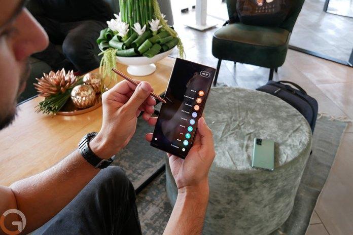Galaxy Note 20 Ultra (Photo: Ronen Mendzicki, Gadget)