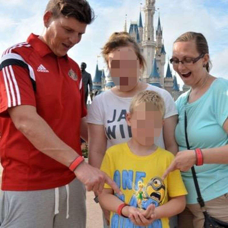 Valery e família.
