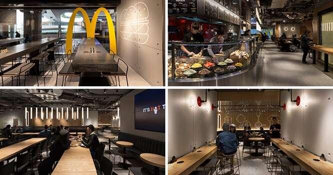 Conheça o mais moderno McDonald's do mundo