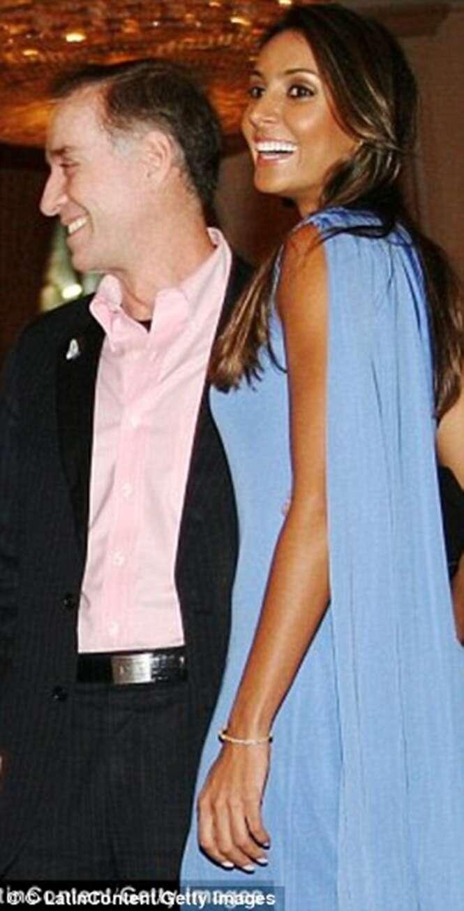 Eike Batista com a namorada Flavia Sampaio em 2012.
