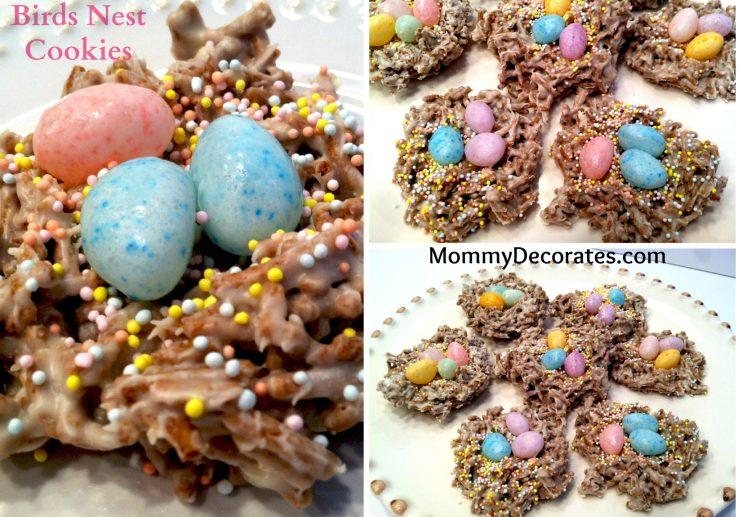 Easter Birds Nest Cookie Recipe