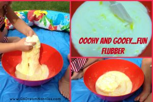 Fun Flubber Collage