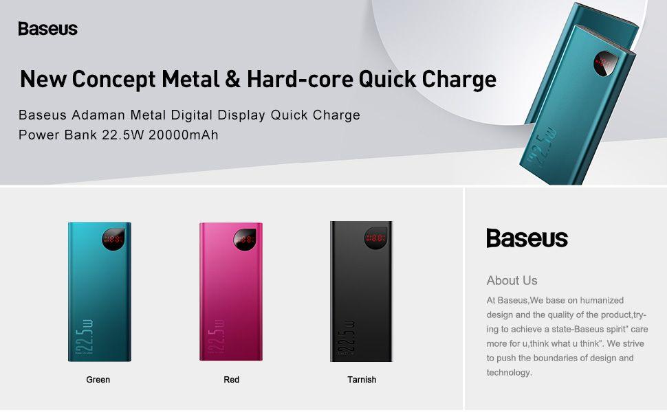 Baseus Adaman 20000mah Power Bank Quick Charge 4 0 Supercharge (2)