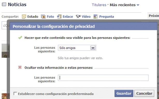 Privacidad en Facebook2