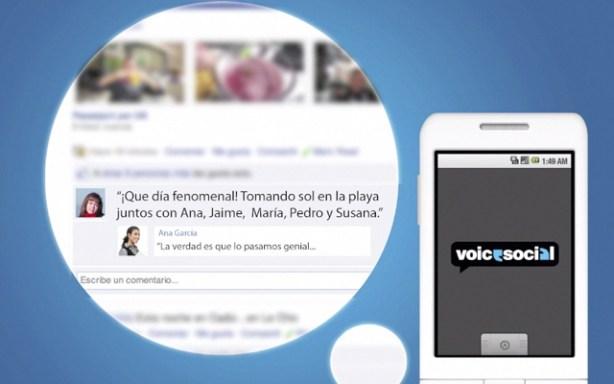 Voice2Social de Vodafone para redes sociales
