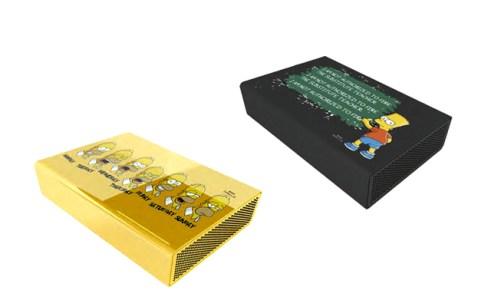 Carcasas para discos duros exterrnos de los Simpsons