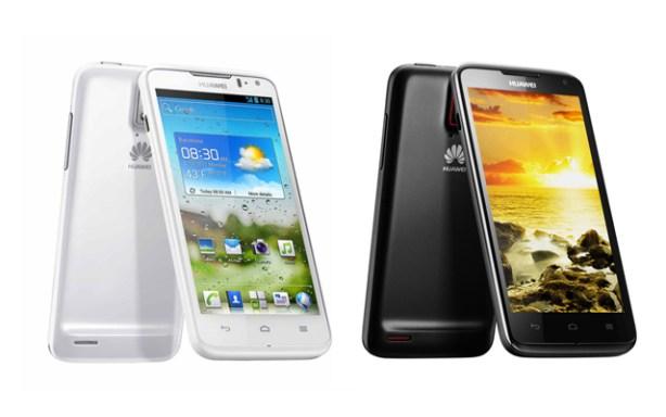 Los terminañes Huawei Ascend Quad D