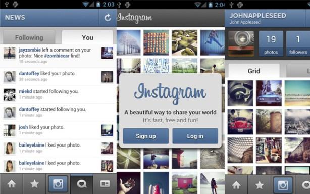 Para acceder a Instagram tienes que registrarte