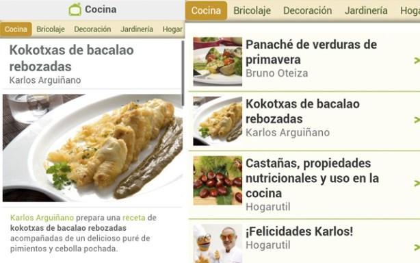 La app de Hogaruatil.com para iPhone y Android