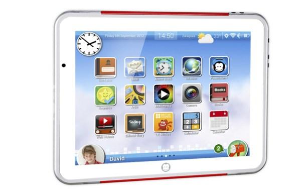 El tablet de Imaginarium es de 9,7 pulgadas