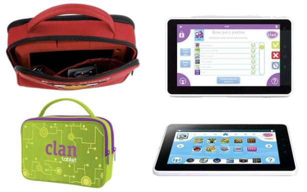 La tablet de Clan/Kurio viene con numerosos juegos precargados.