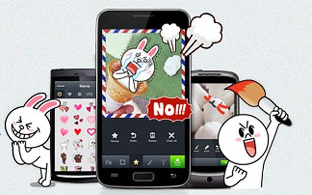 Line app fotos