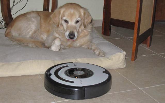 Roomba 565 Pet  es un robot aspirador indicado para casas con mascotas.