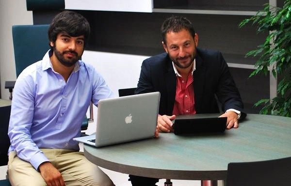 Javier Gutiérrez y Pelayo García, fundadores de Manzanas Usadas