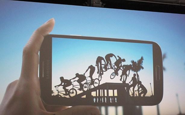 Samsung Galaxy S4 secuencia