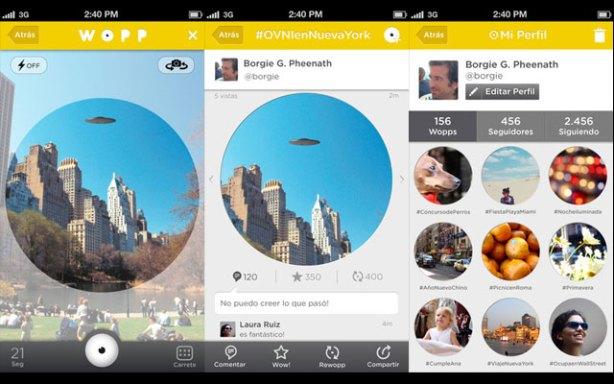 WOPP es una red social de videos de 21 segundos