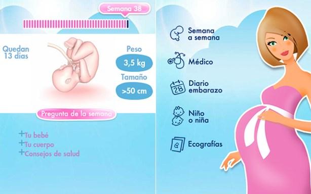 App para seguir tu embarazo en el smartphone