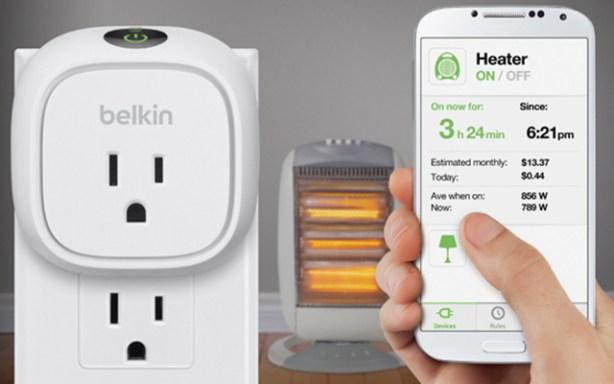 WeMo Insight de Belkin programar y gestionar desde el smartphone tus dispositivos eléctricos y monitorizar su consumo y coste de energía