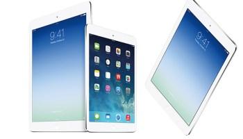 Apple lanza el iPad Air y el iPad mini retina
