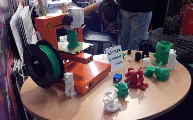 La impresora 3D Up! Plus en el Salón del Manga
