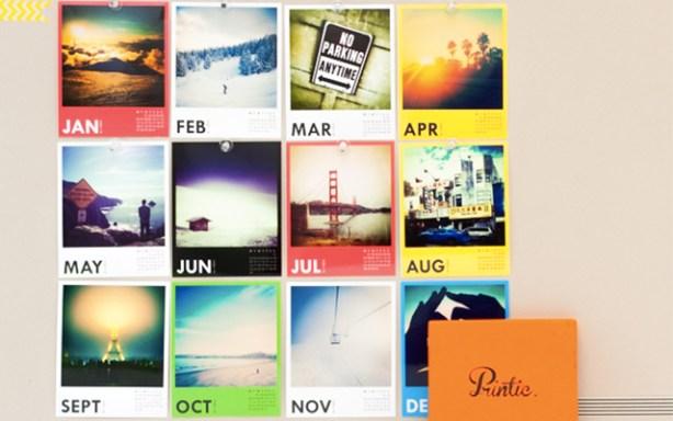 Printic te permite hacer un calendario
