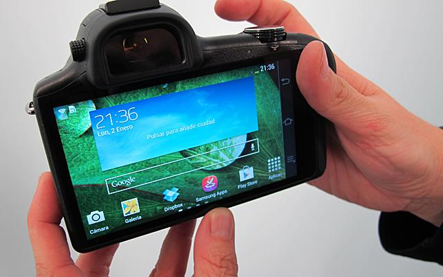 Samsung NX menú Android