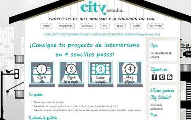 City Estudio ofrece decoración e interiorismo online, a bajo coste