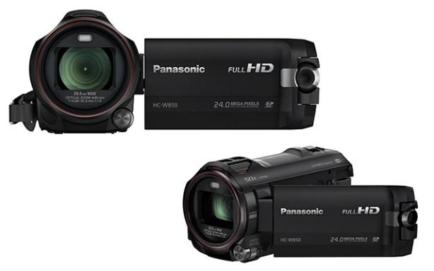 La Panasonic W850 lleva Wi-Fi incorporado y conexión NFC