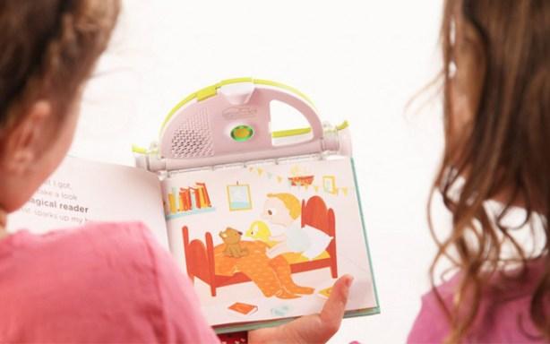 Reader para niños Sparkup Magical Book Reader