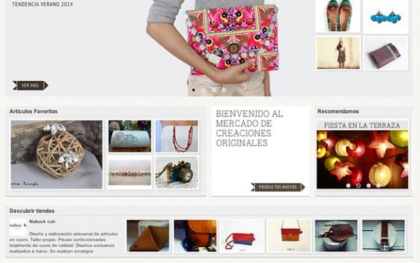 DaWanda es un social commercepara vender productos artesanales