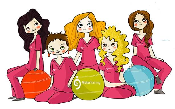 Mater Training ofrece cursos online sobre embarazo, parto y postparto.